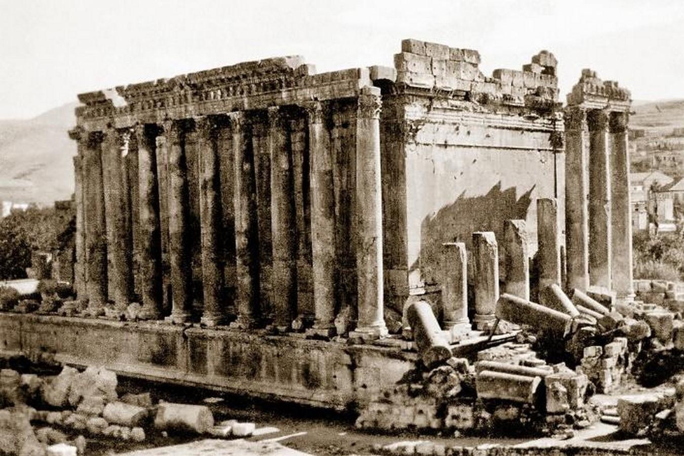 The temple of Bacchus, Lebanon - Sheet3