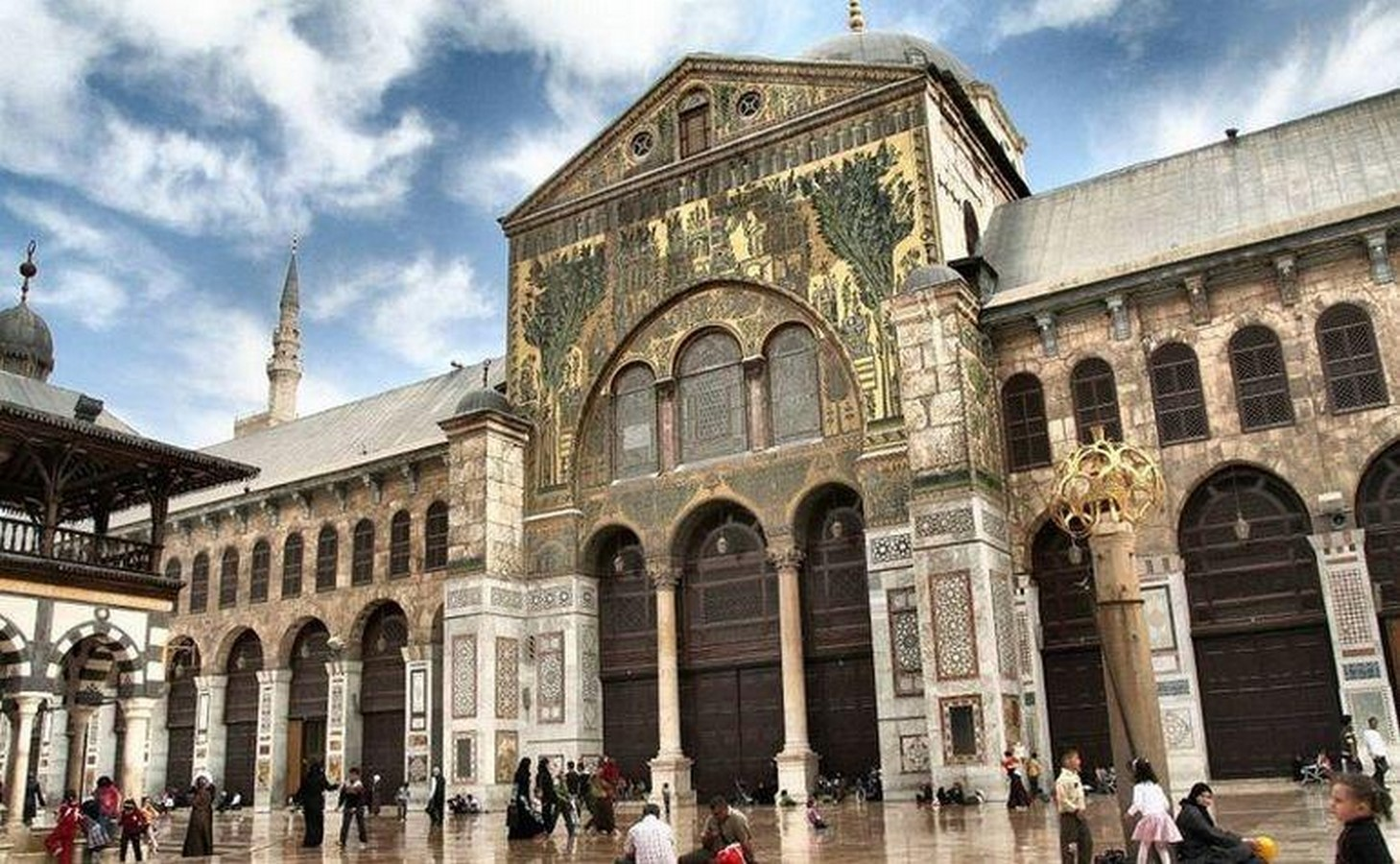 The great mosque of Damascus, Syria - Sheet3