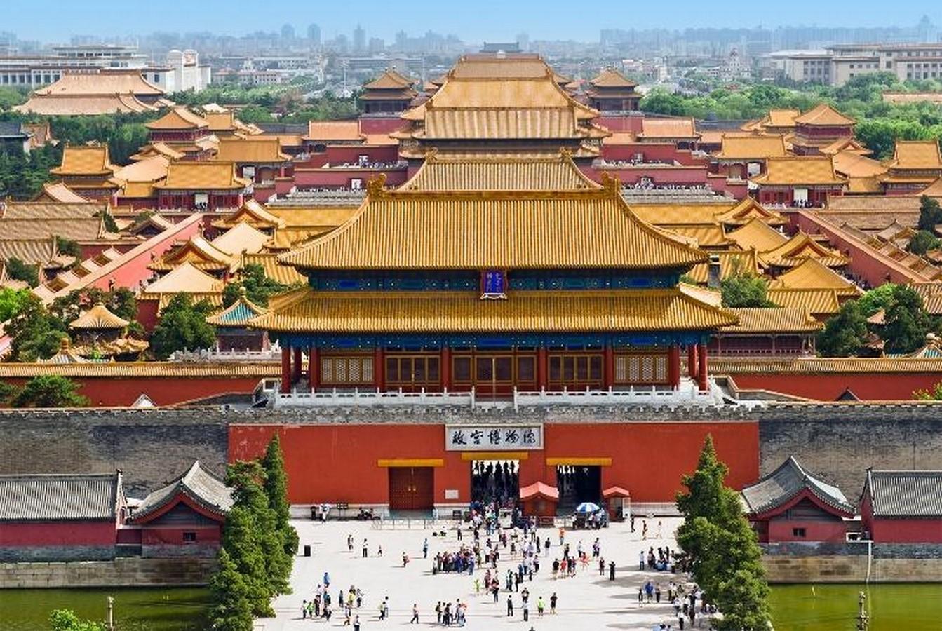 The Forbidden City, China - Sheet2