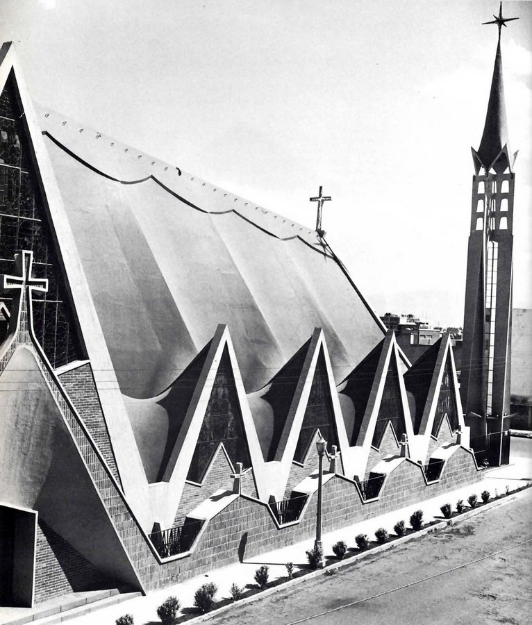 Church of Our Lady of the Miraculous Medal, Mexico City, Mexico - Sheet1