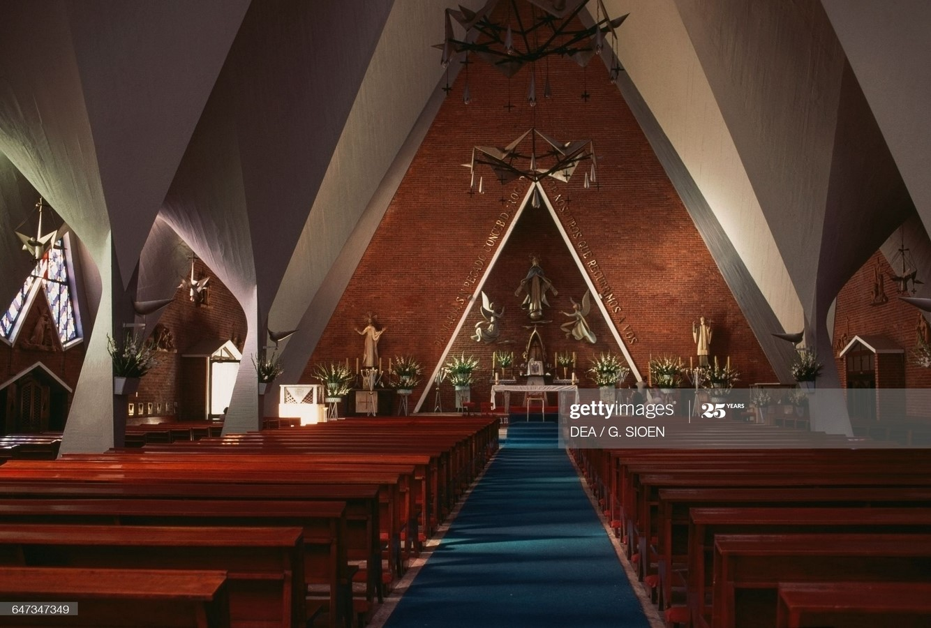 Church of Our Lady of the Miraculous Medal, Mexico City, Mexico - Sheet3