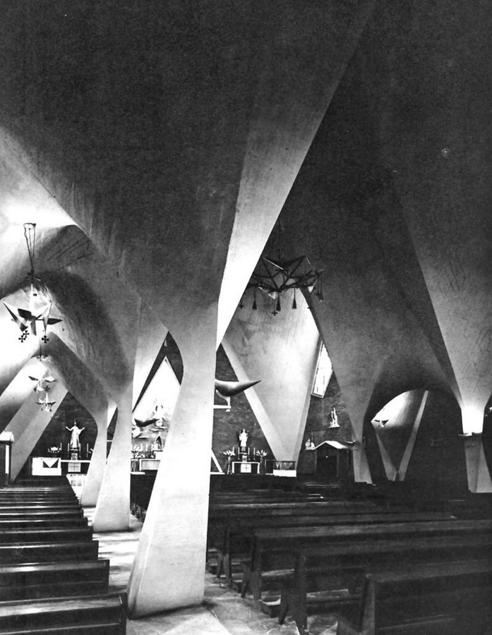 Church of Our Lady of the Miraculous Medal, Mexico City, Mexico - Sheet4