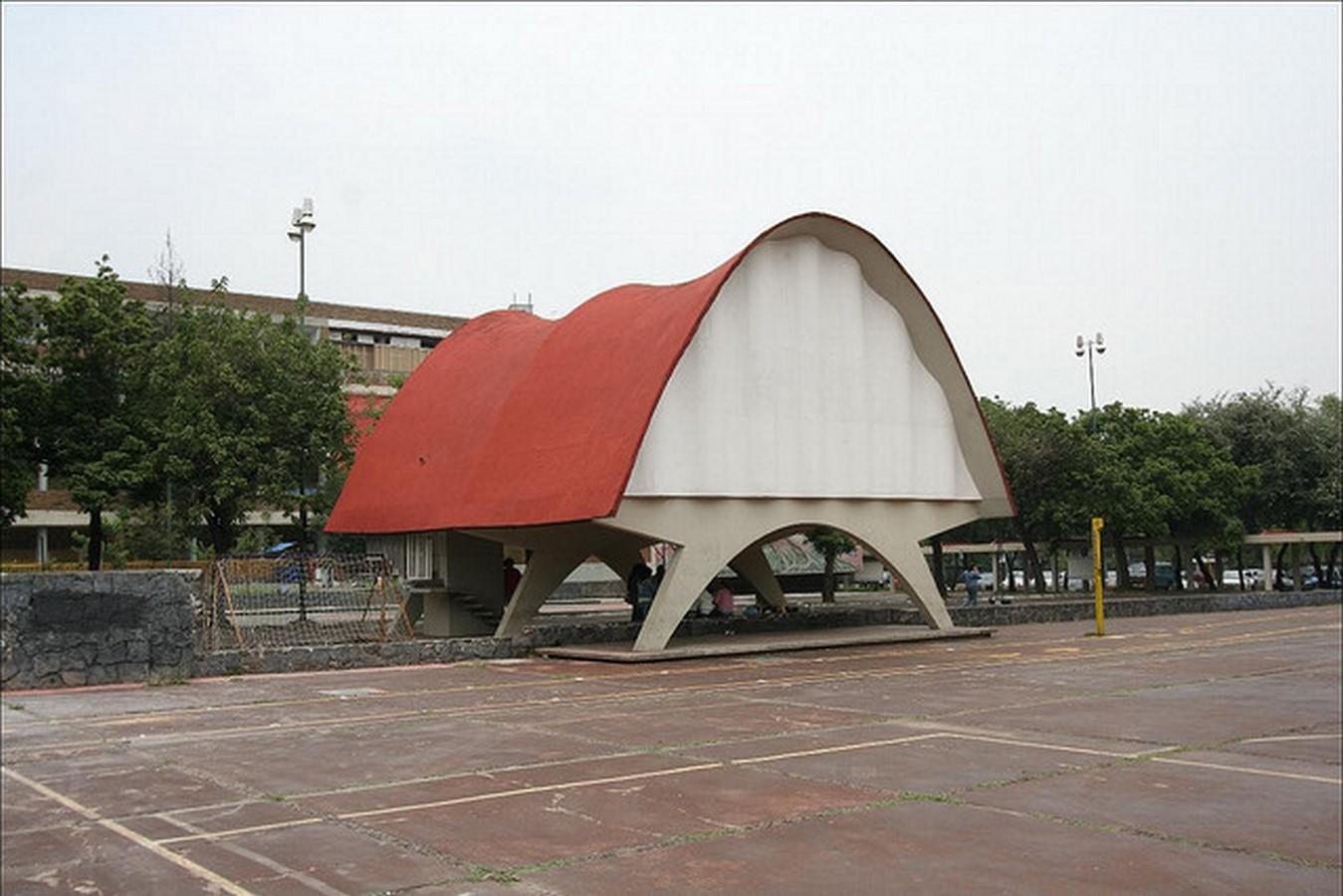 Cosmic Rays Pavilion, Mexico City, Mexico - Sheet1