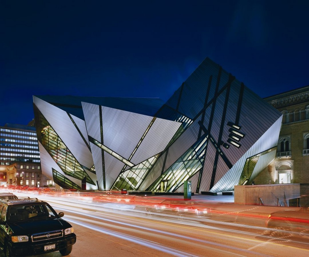 Royal Ontario Museum by Daniel Libeskind: The modern Crystal - Sheet2