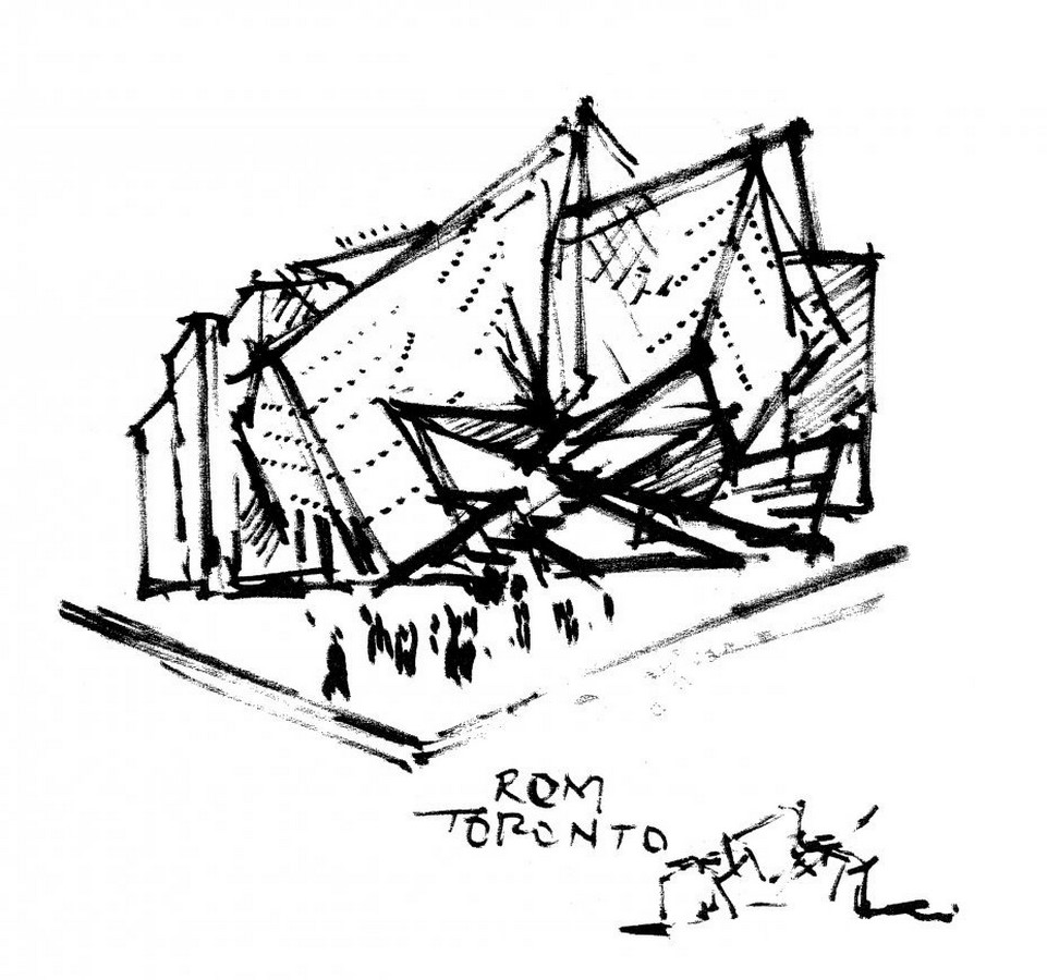Royal Ontario Museum by Daniel Libeskind: The modern Crystal - Sheet11