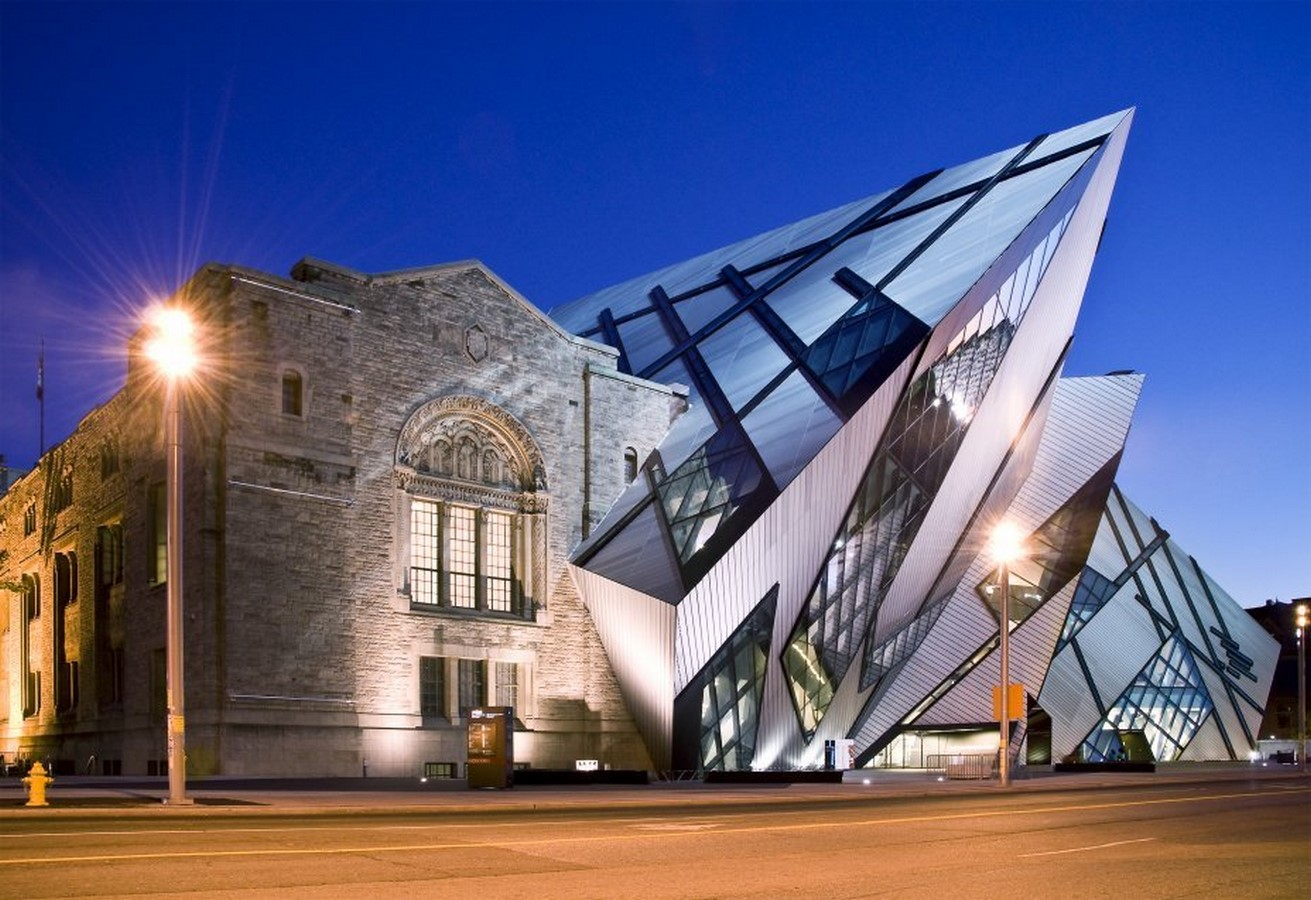 Royal Ontario Museum by Daniel Libeskind: The modern Crystal - Sheet8