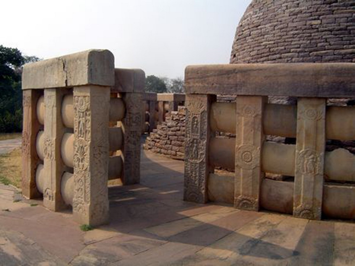 Sanchi Stupa Bhopal - Sheet2