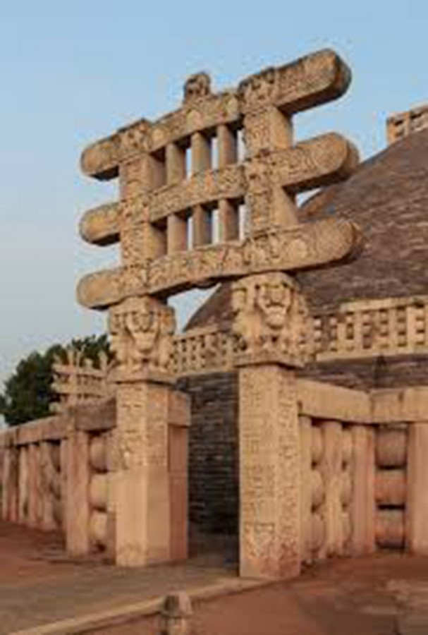 Sanchi Stupa Bhopal - Sheet3