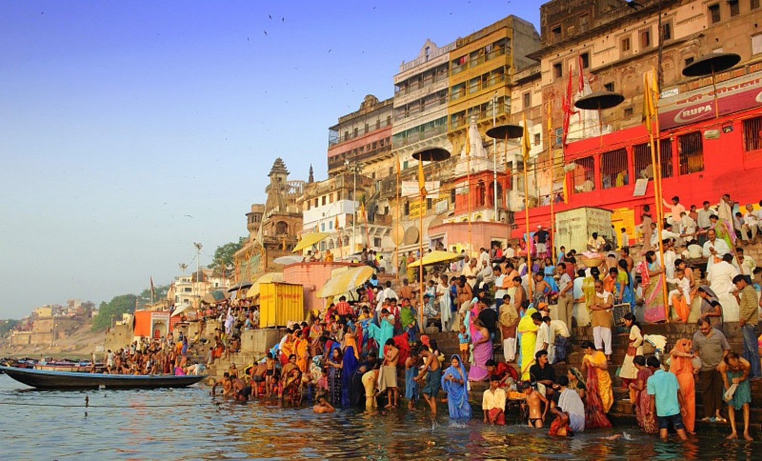 The Holy city of Varanasi - Sheet4