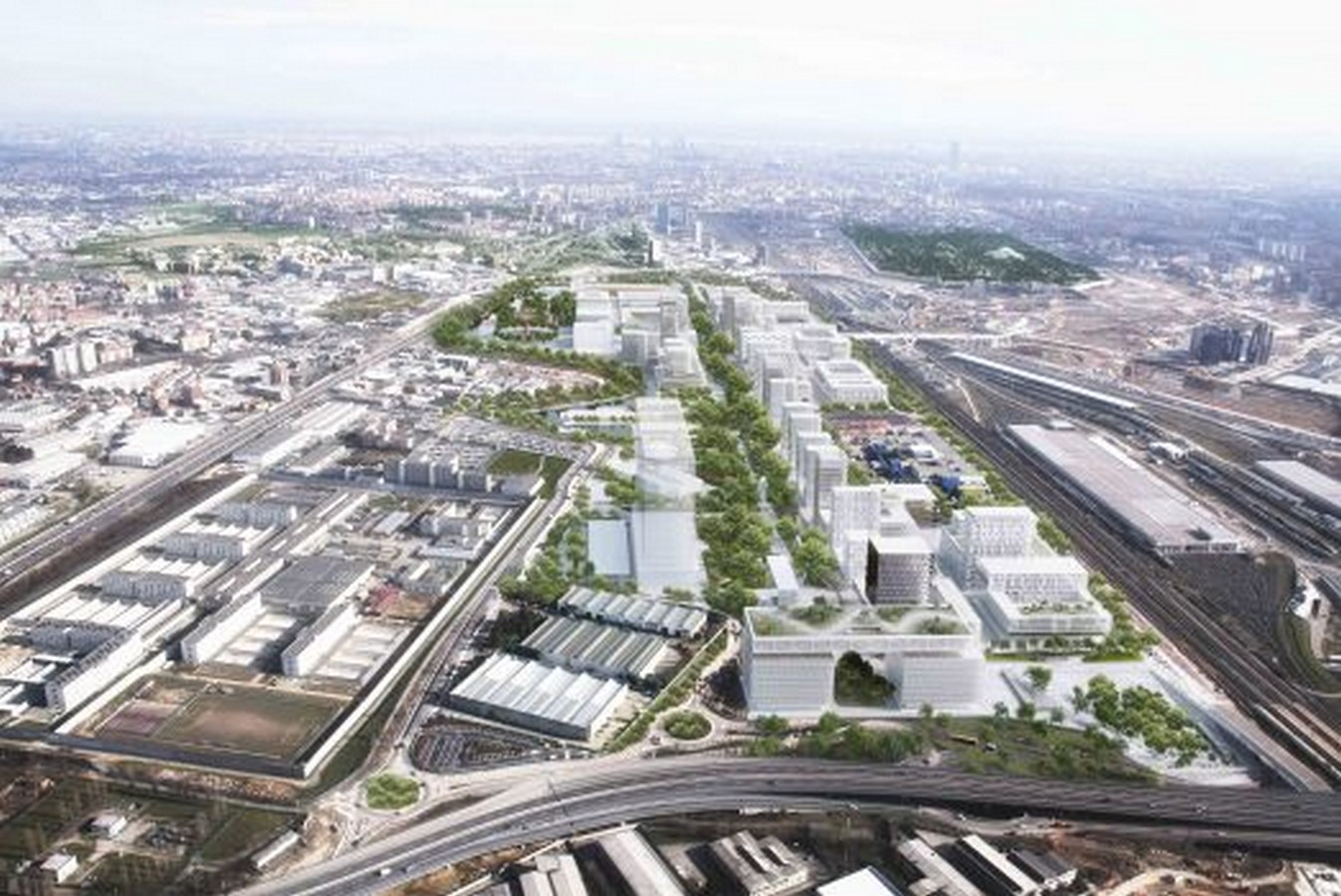 Milan's Science and Innovation Park - Sheet1