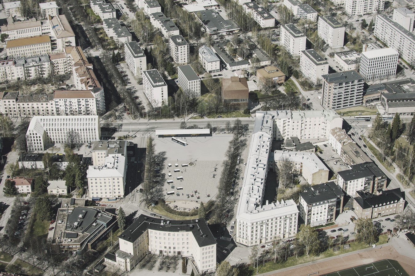 Extension to Tampere Art Museum - Sheet2