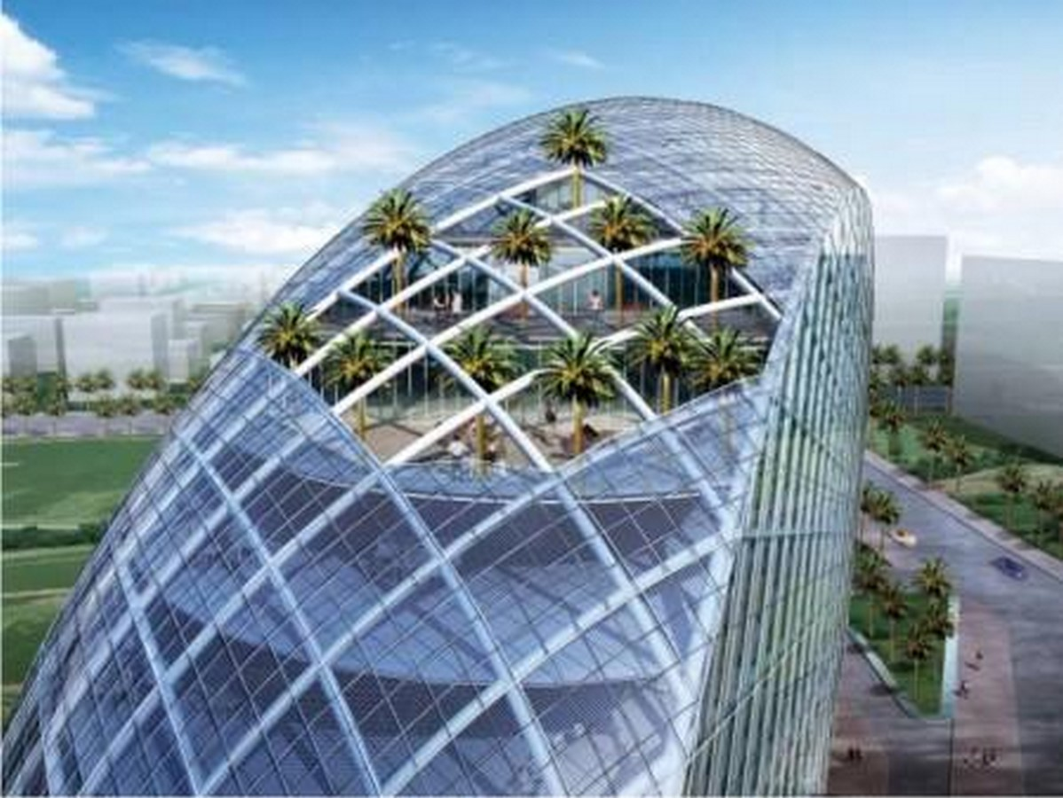 The Cybertecture Egg the new hybrid architecture of Mumbai conceptualized by James Law - Sheet3
