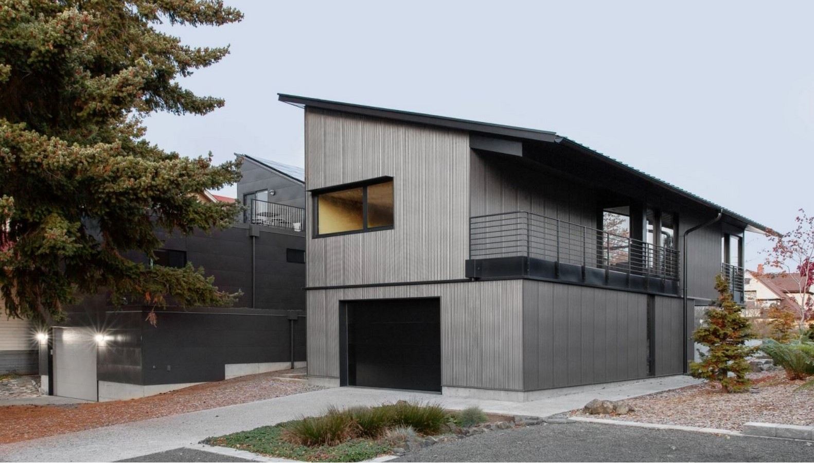 A net-zero compact home in Seattle is inspired by Shibui minimalism designed by SHED Architecture and Design - Sheet1