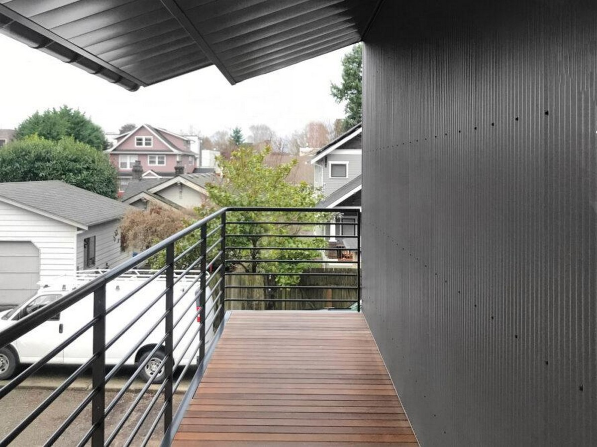 A net-zero compact home in Seattle is inspired by Shibui minimalism designed by SHED Architecture and Design - Sheet4