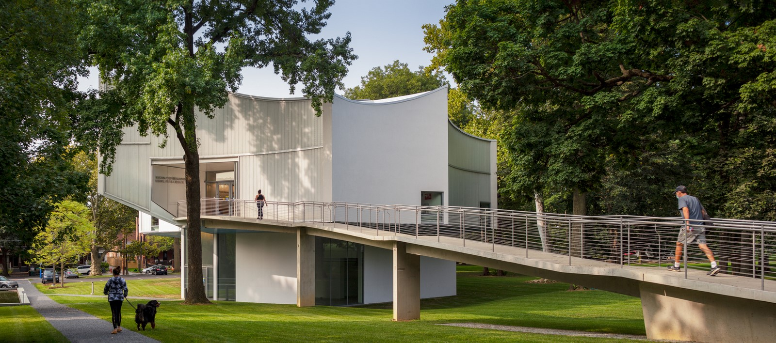 'Winter visual arts building' at Franklin & Marshall College opened by Steven Holl architects - Sheet1