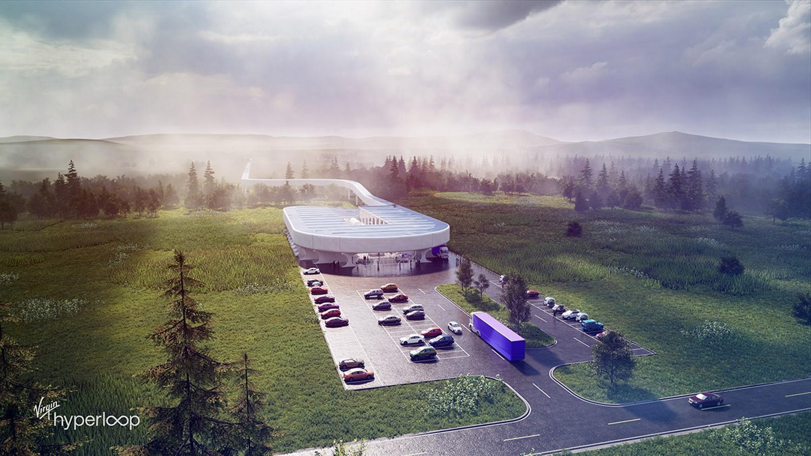 Virgin Hyperloop Certification Center for West Virginia designs revealed by BIG - Sheet1