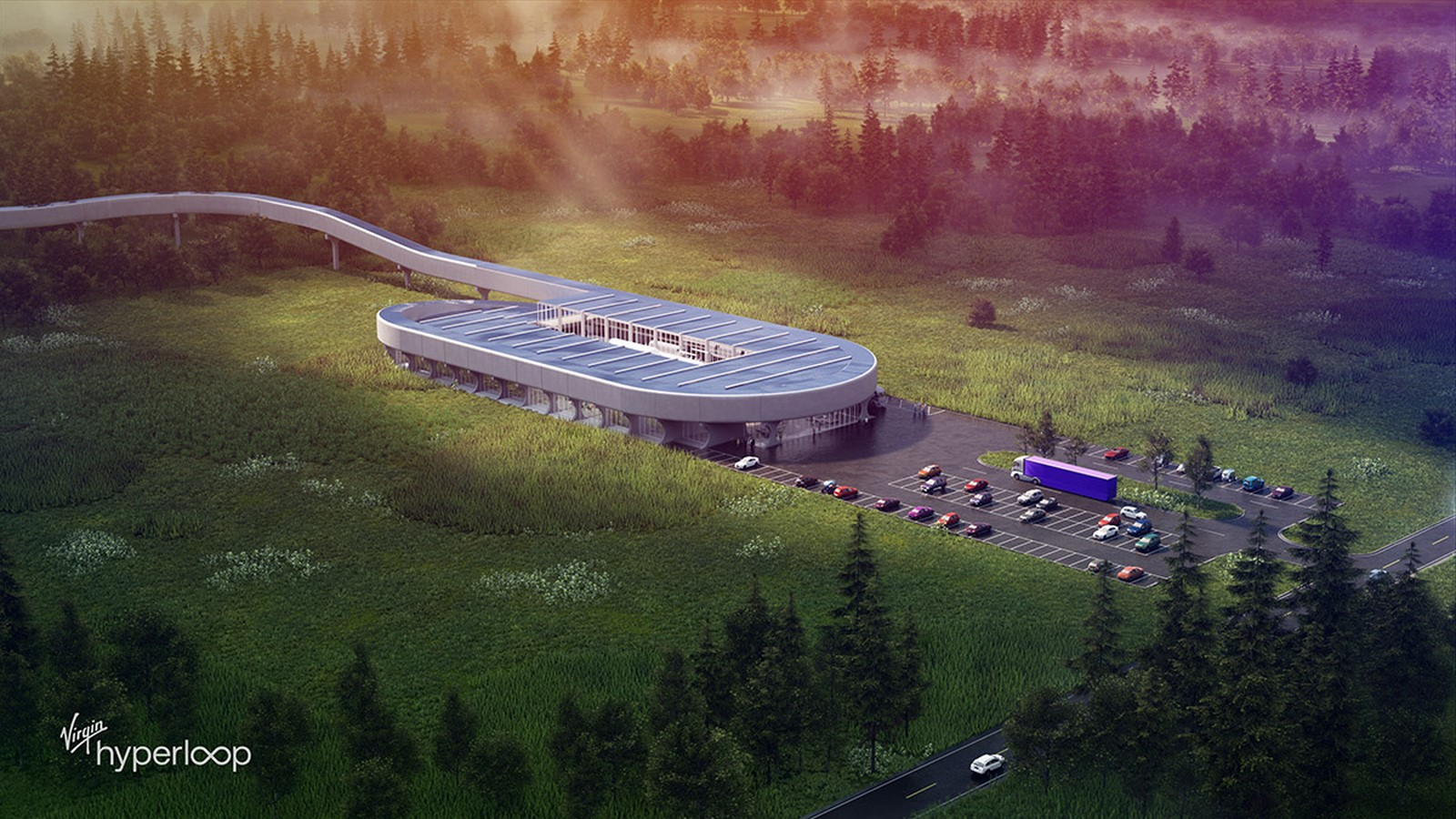 Virgin Hyperloop Certification Center for West Virginia designs revealed by BIG - Sheet4