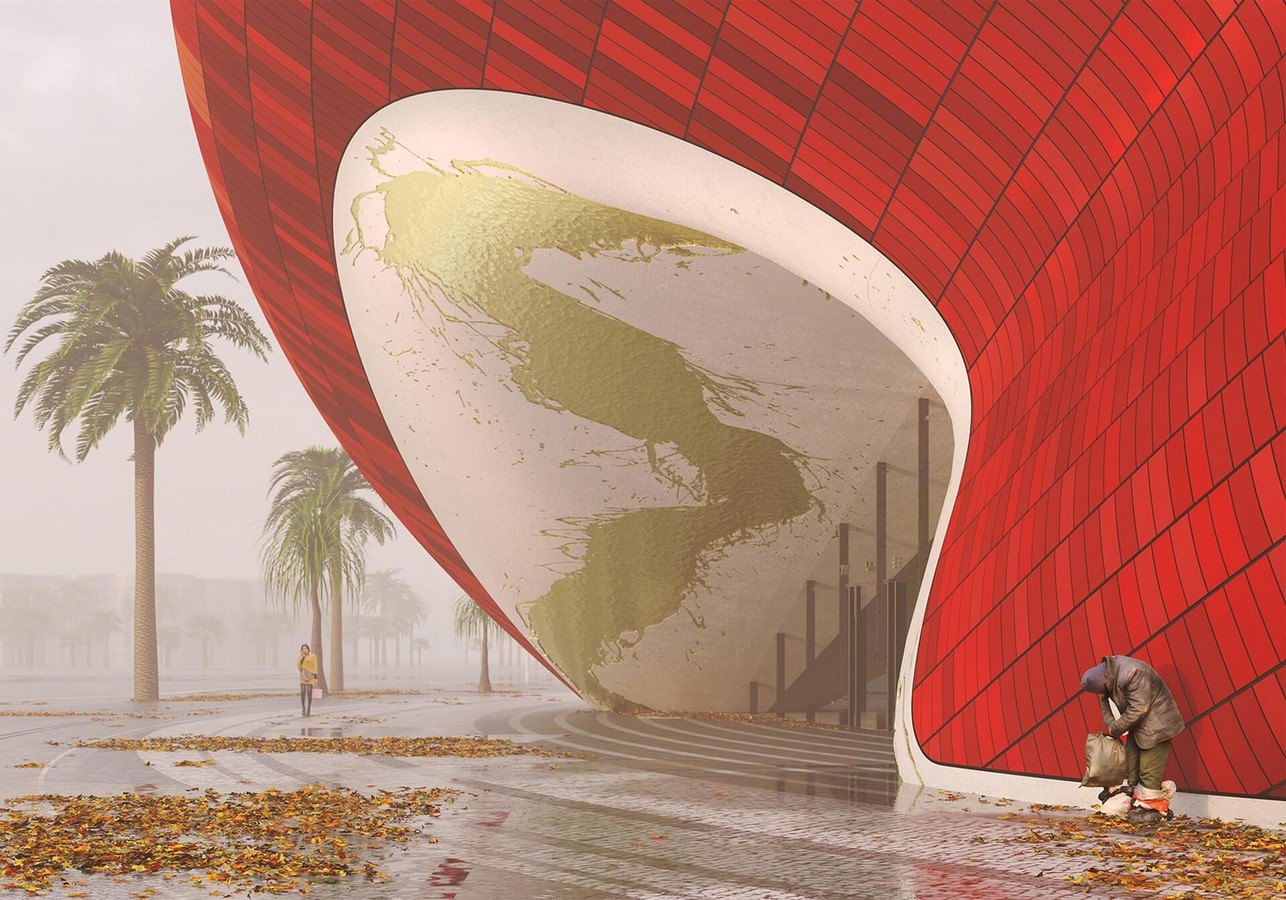 Visuals of silk-informed theatre in Guangzhou revealed by Steven Chilton Architects - Sheet2