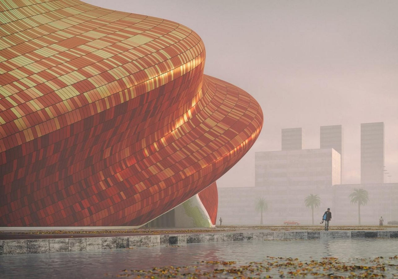 Visuals of silk-informed theatre in Guangzhou revealed by Steven Chilton Architects - Sheet3