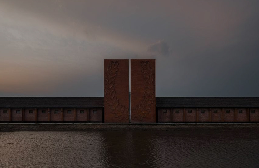 Old Granaries repurposed As An Art Centre With Flowing Brick Corridors In Jiaxing by Roarc Renew