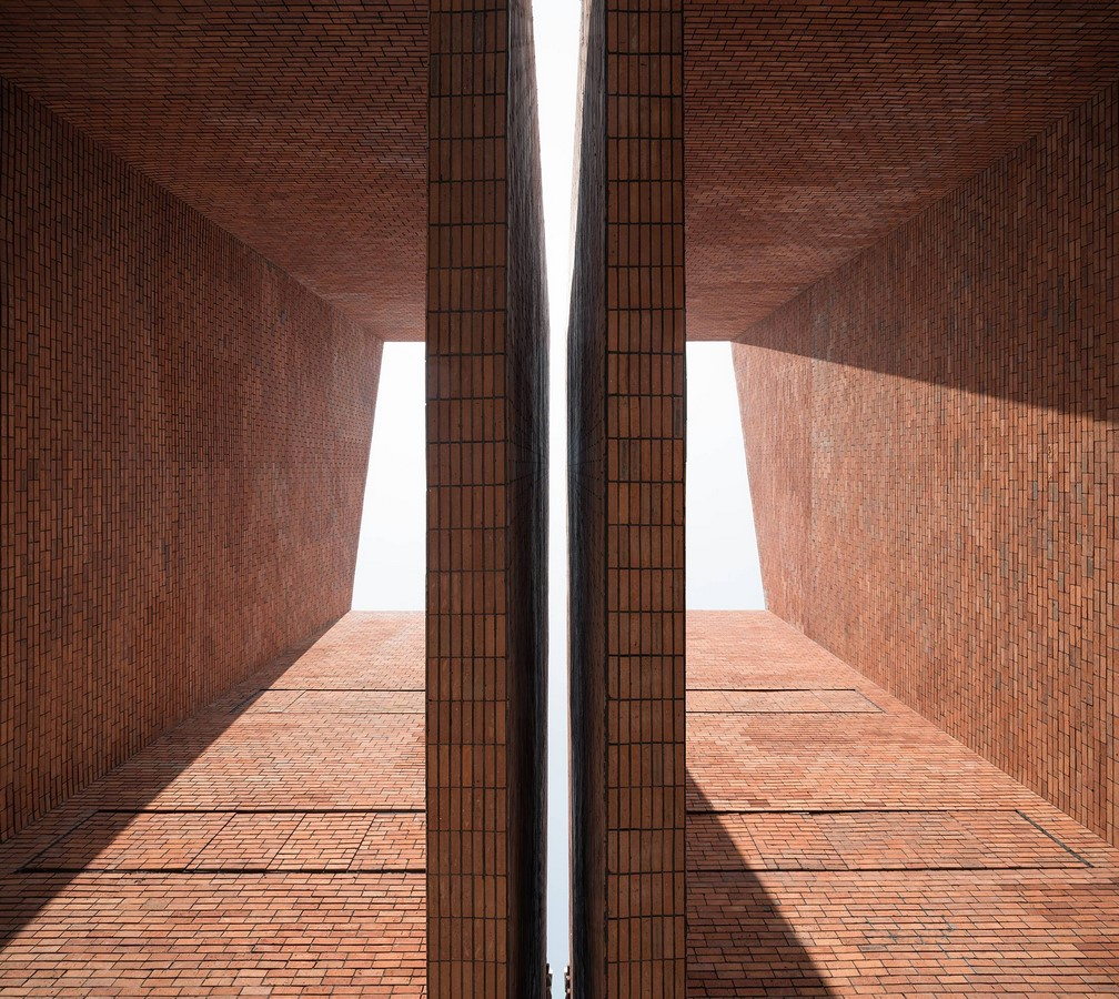 Old Granaries repurposed As An Art Centre With Flowing Brick Corridors In Jiaxing by Roarc Renew - Sheet2