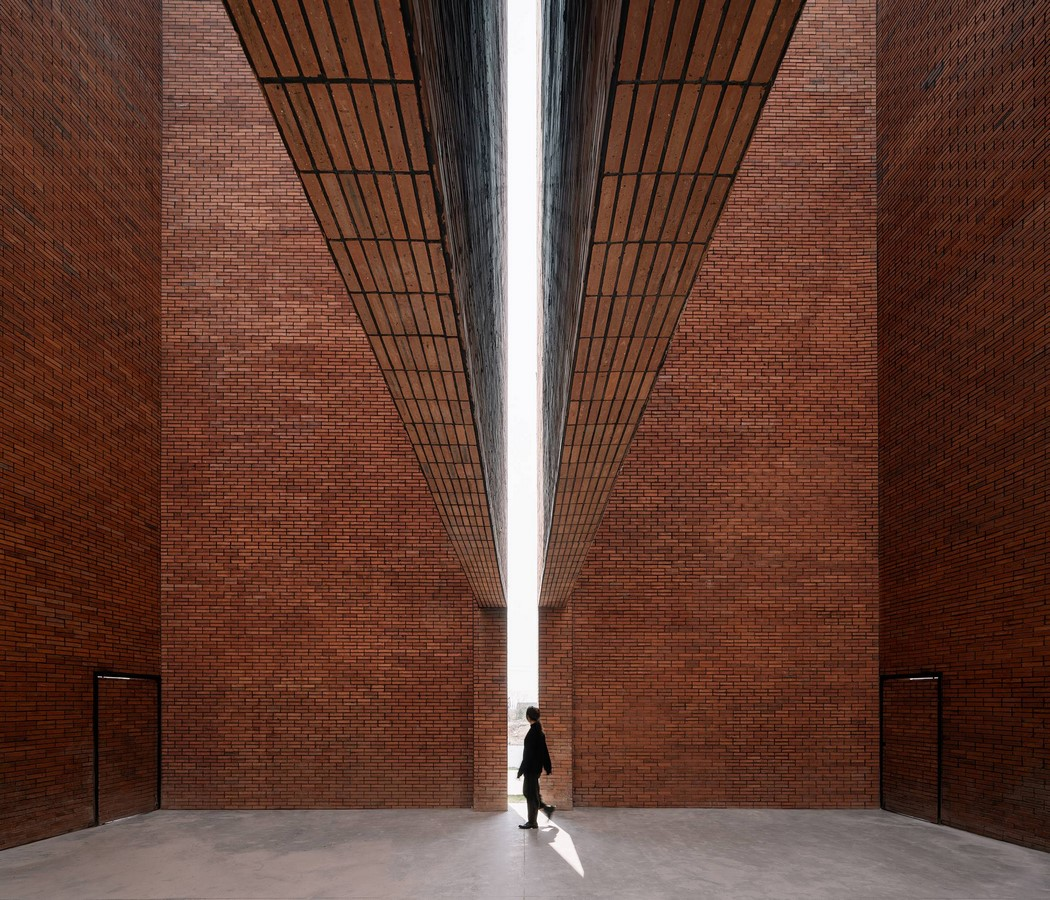 Old Granaries repurposed As An Art Centre With Flowing Brick Corridors In Jiaxing by Roarc Renew - Sheet4