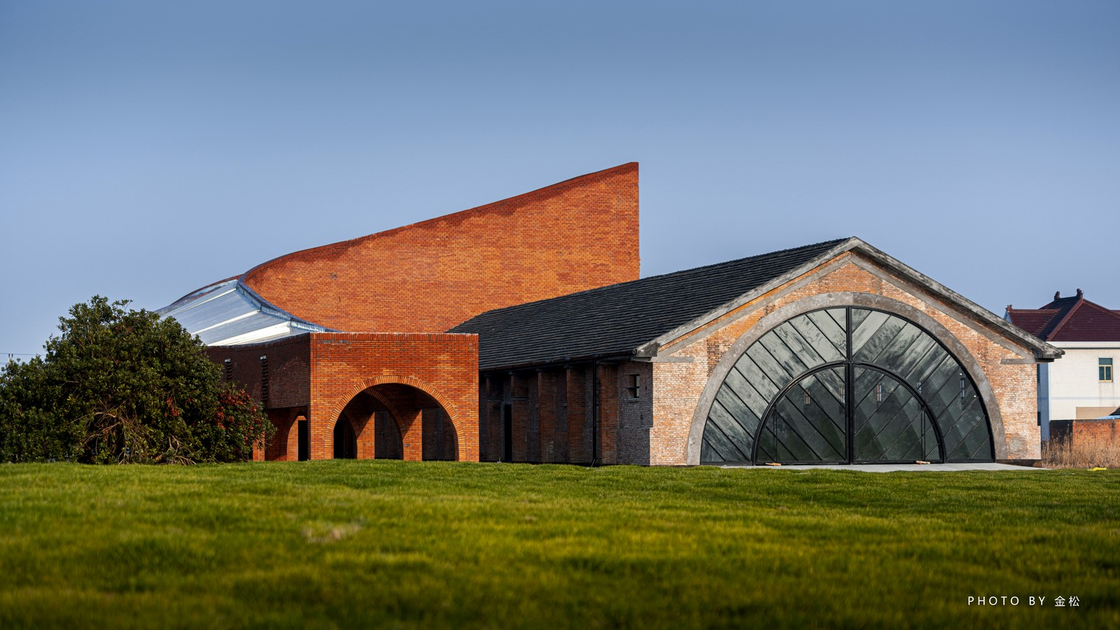 Old Granaries repurposed As An Art Centre With Flowing Brick Corridors In Jiaxing by Roarc Renew - Sheet5