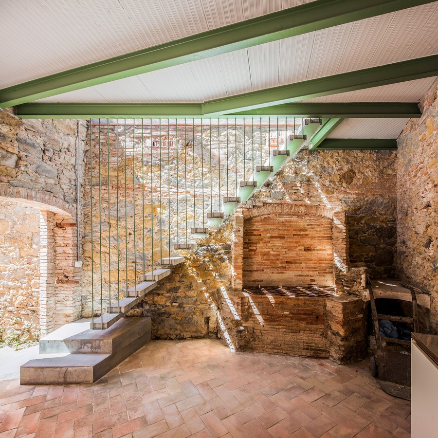 Former Chocolate Factory converted into Residence With Stone Walls In Spain by Anna & Eugeni Bach - Sheet5