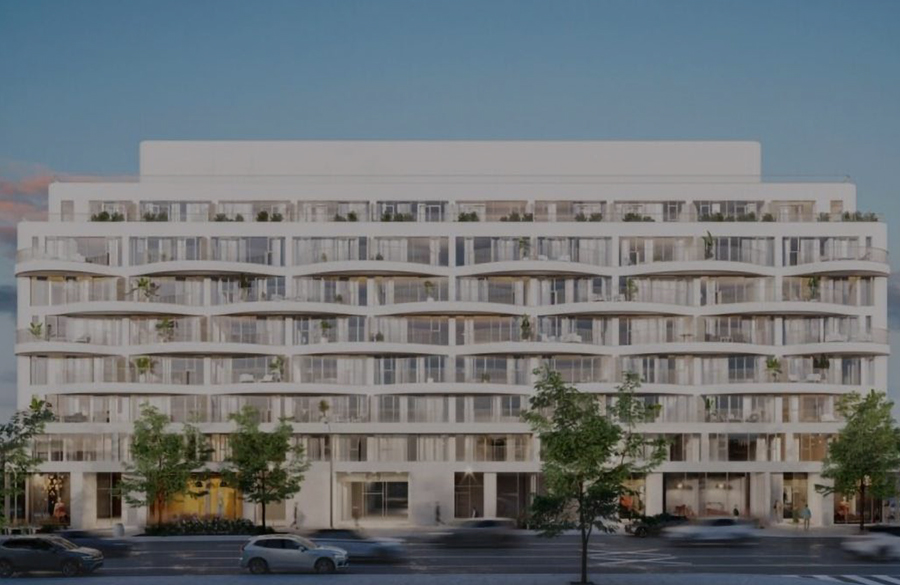 Design revealed for Reina condo in Etobicoke by Canada's first all-female development team