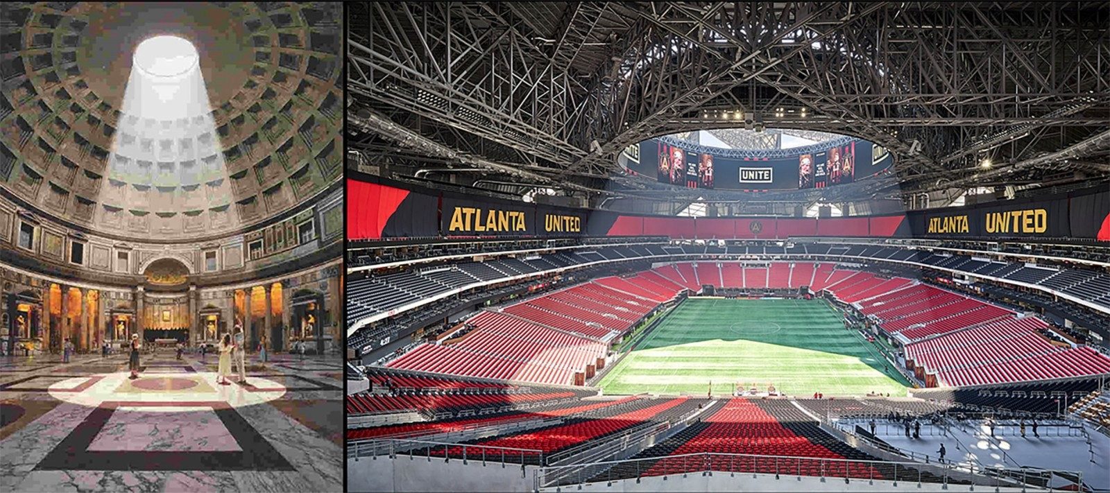 Mercedes Benz Stadium by HOK- Sports meets technology - Sheet3