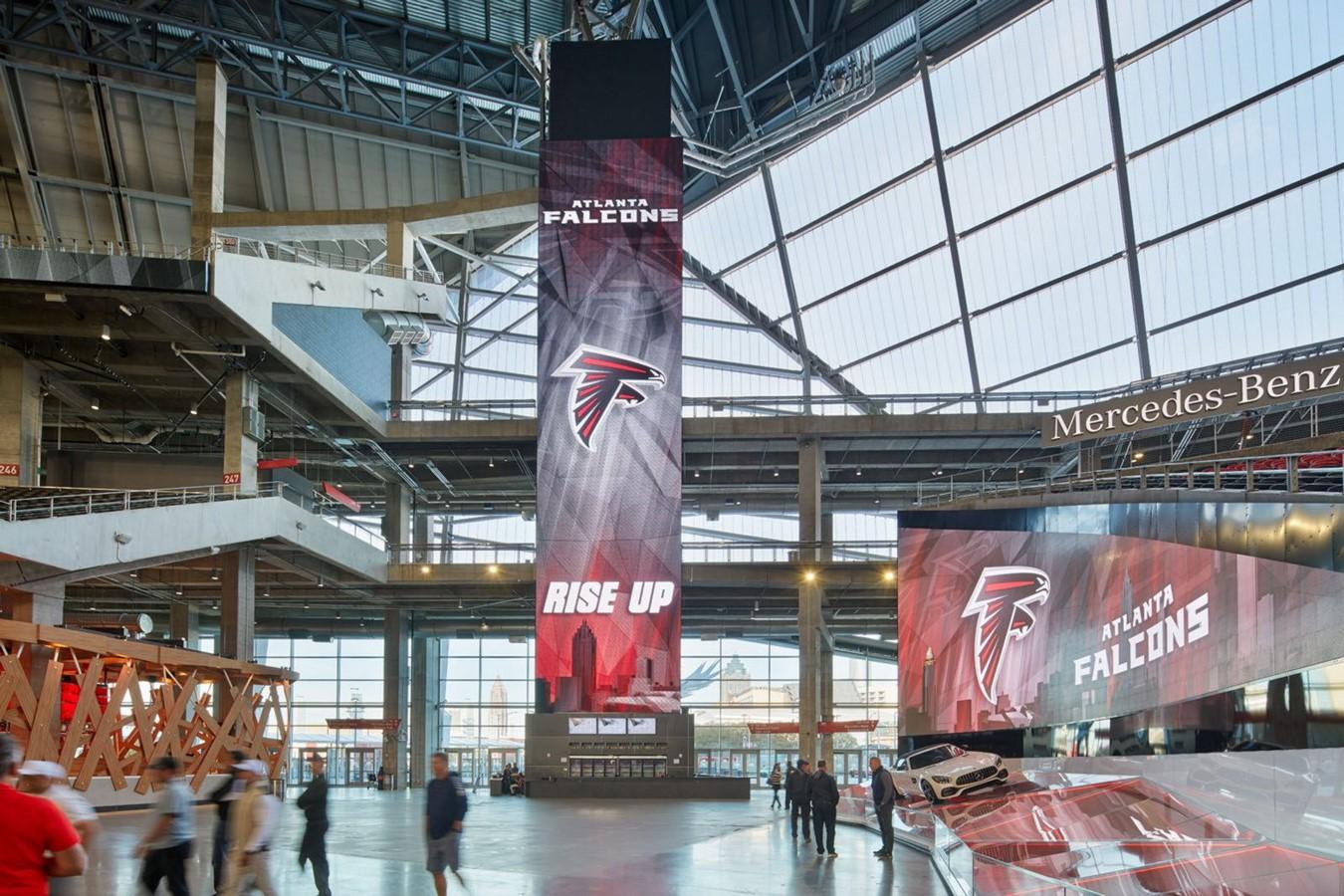 Mercedes Benz Stadium by HOK- Sports meets technology - Sheet4