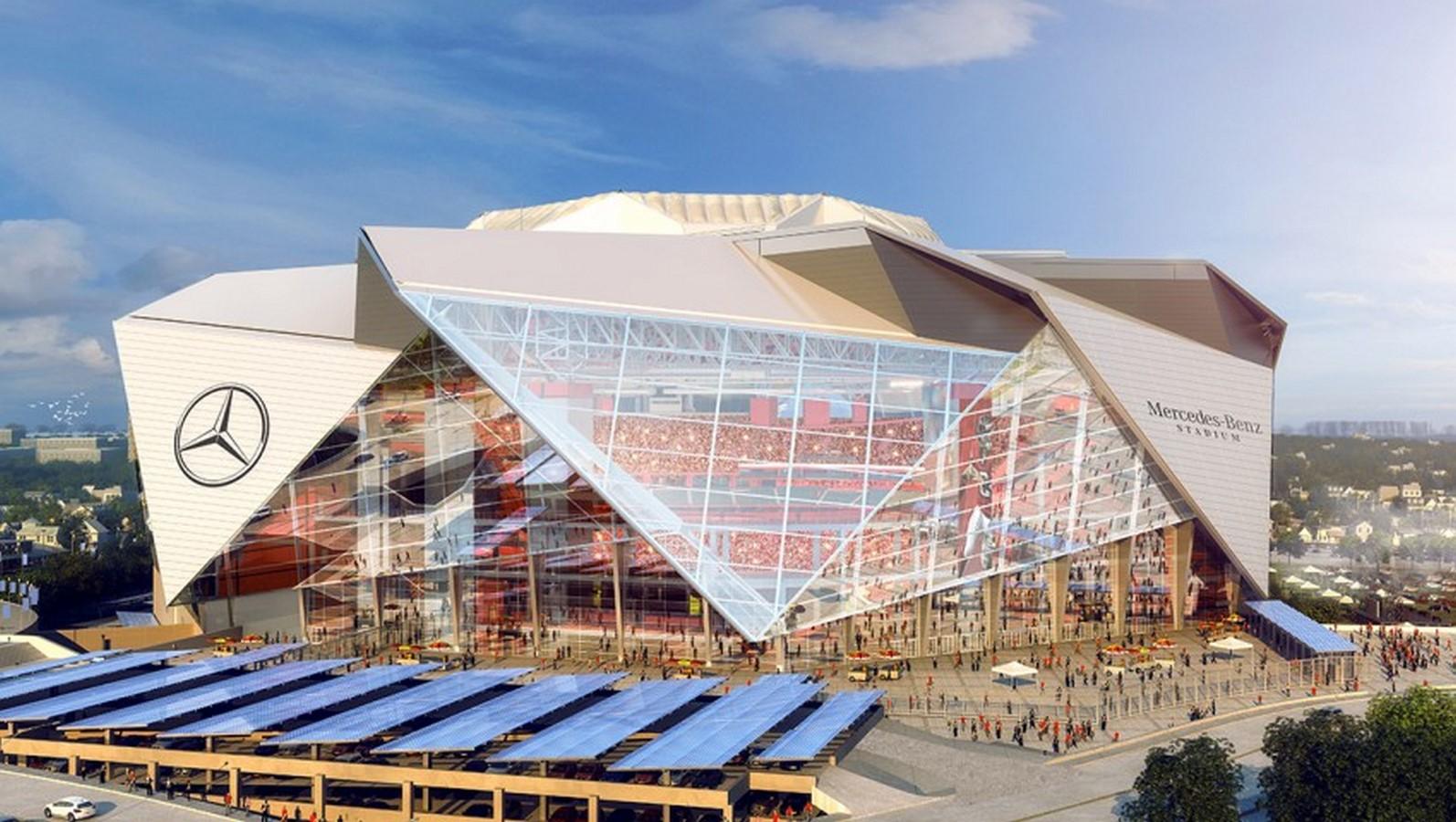 Mercedes Benz Stadium by HOK- Sports meets technology - Sheet6