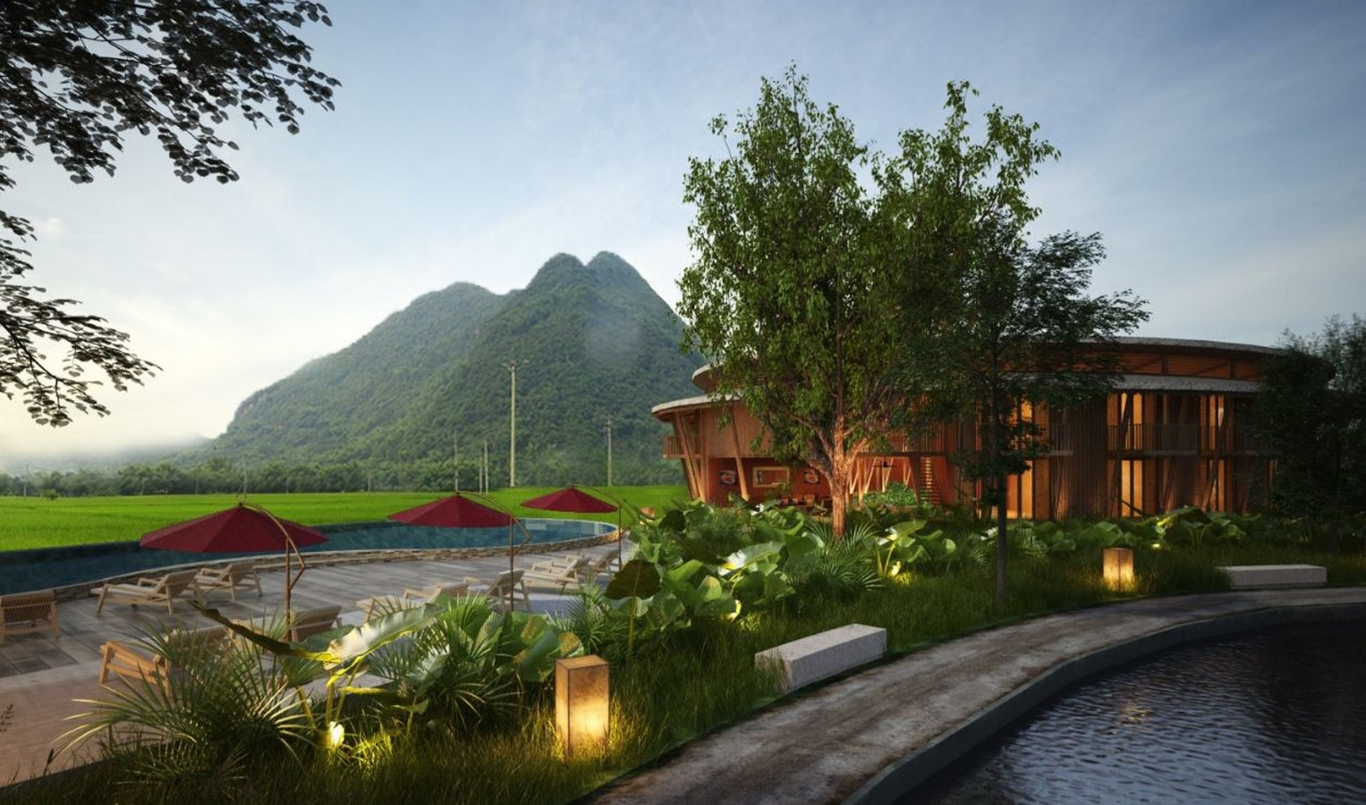 Eco Lodge in Mai Chau by T3 Architects- Sheet1