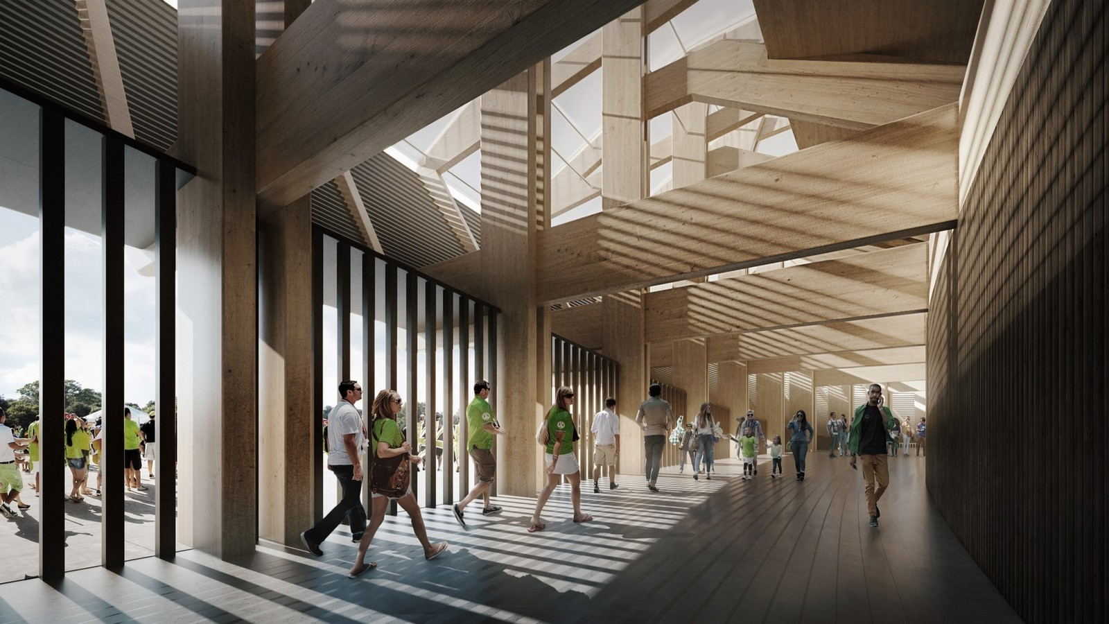 Timber Stadium by Zaha Hadid- Sheet1