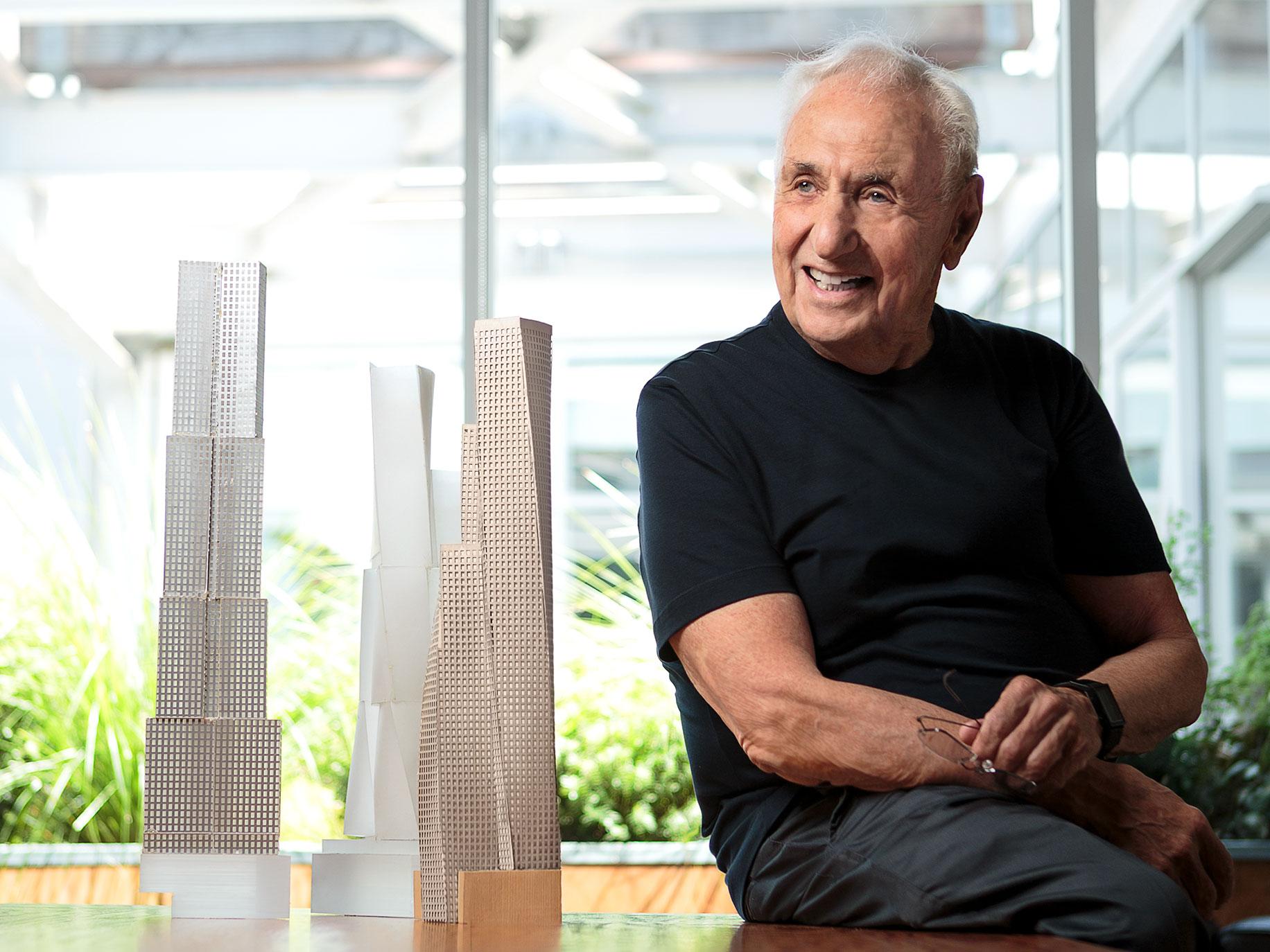 Frank Gehry Sheet 1