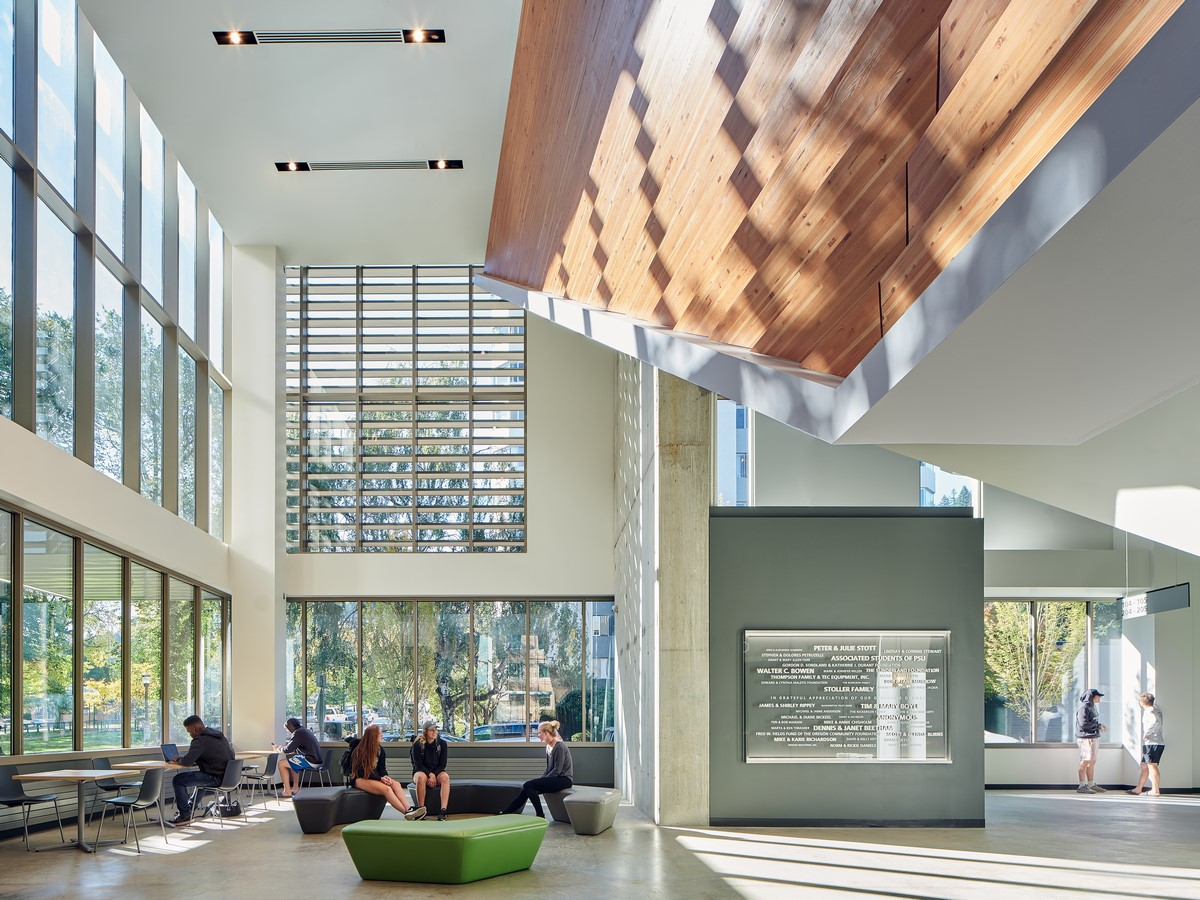 Portland State University Stott Center Renovation + Viking Pavilion by Woofter Bolch Architecture and Perkins+Will - sheet1