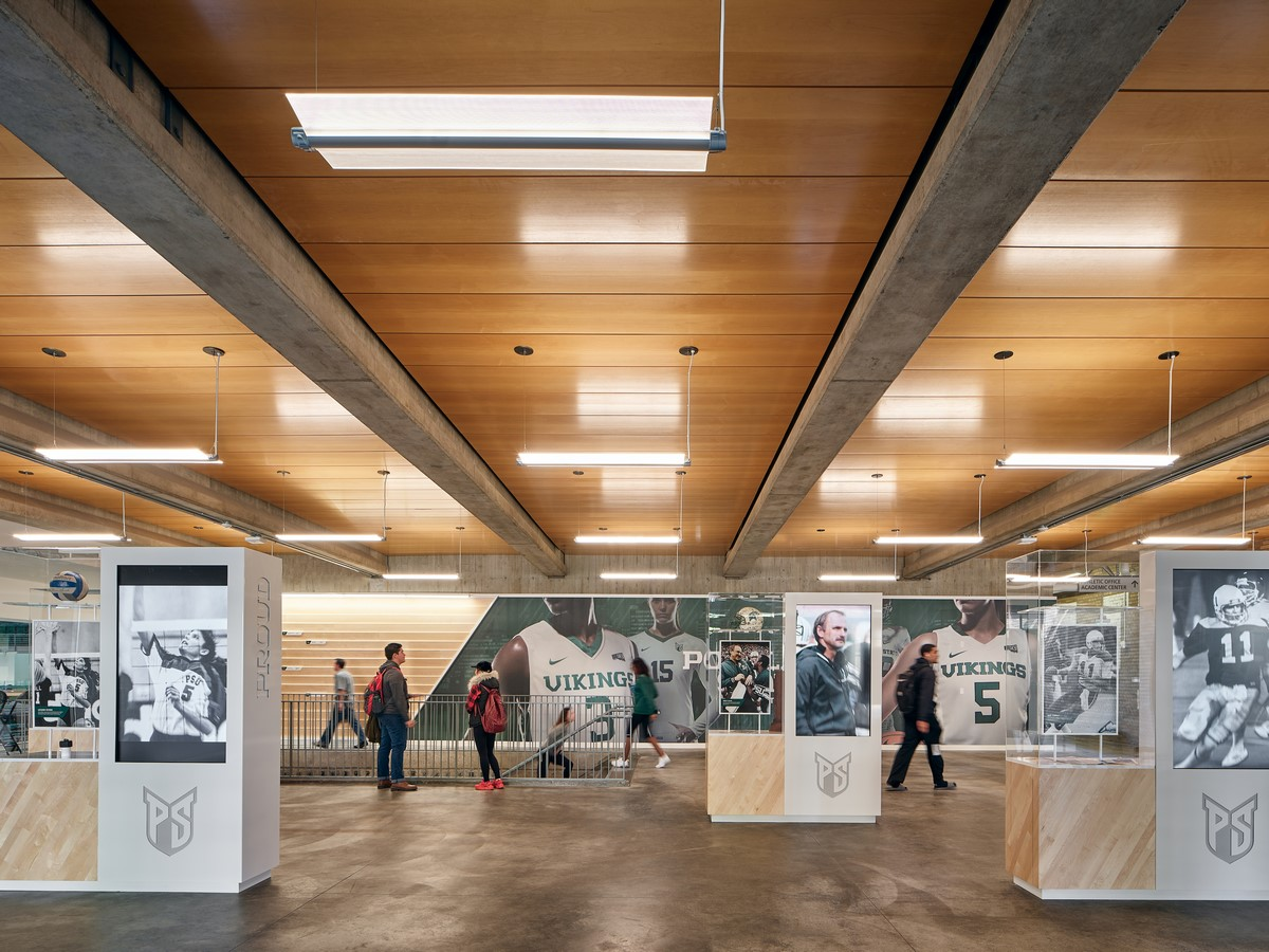 Portland State University Stott Center Renovation + Viking Pavilion by Woofter Bolch Architecture and Perkins+Will - sheet3