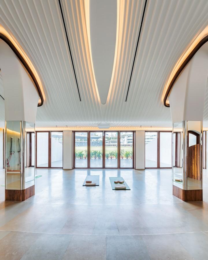 Yoga studio, Cricket Club of India, Mumbai - Sheet2