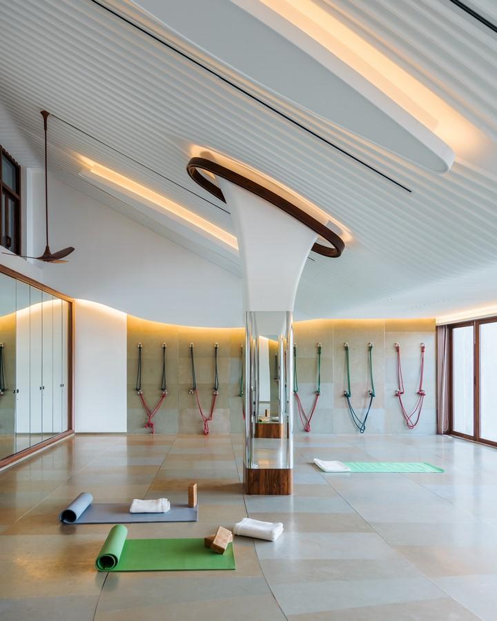 Yoga studio, Cricket Club of India, Mumbai - Sheet4