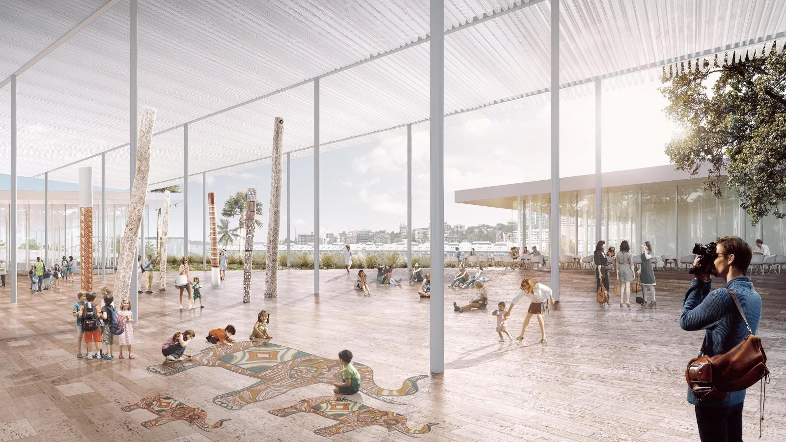 New Images For Art Gallery Of South Wales Expansion In Sydney revealed by SANAA - Sheet10