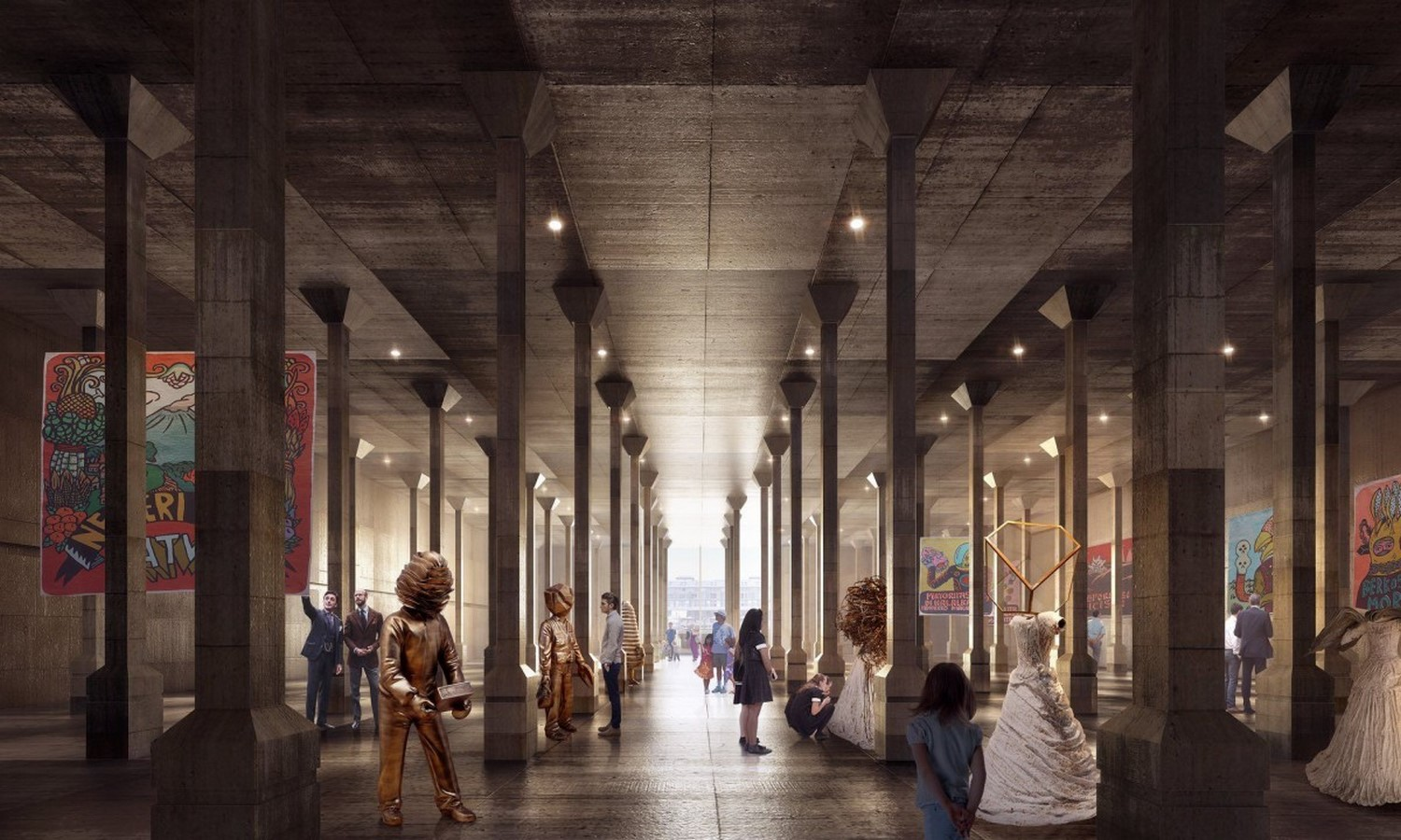 New Images For Art Gallery Of South Wales Expansion In Sydney revealed by SANAA - Sheet11