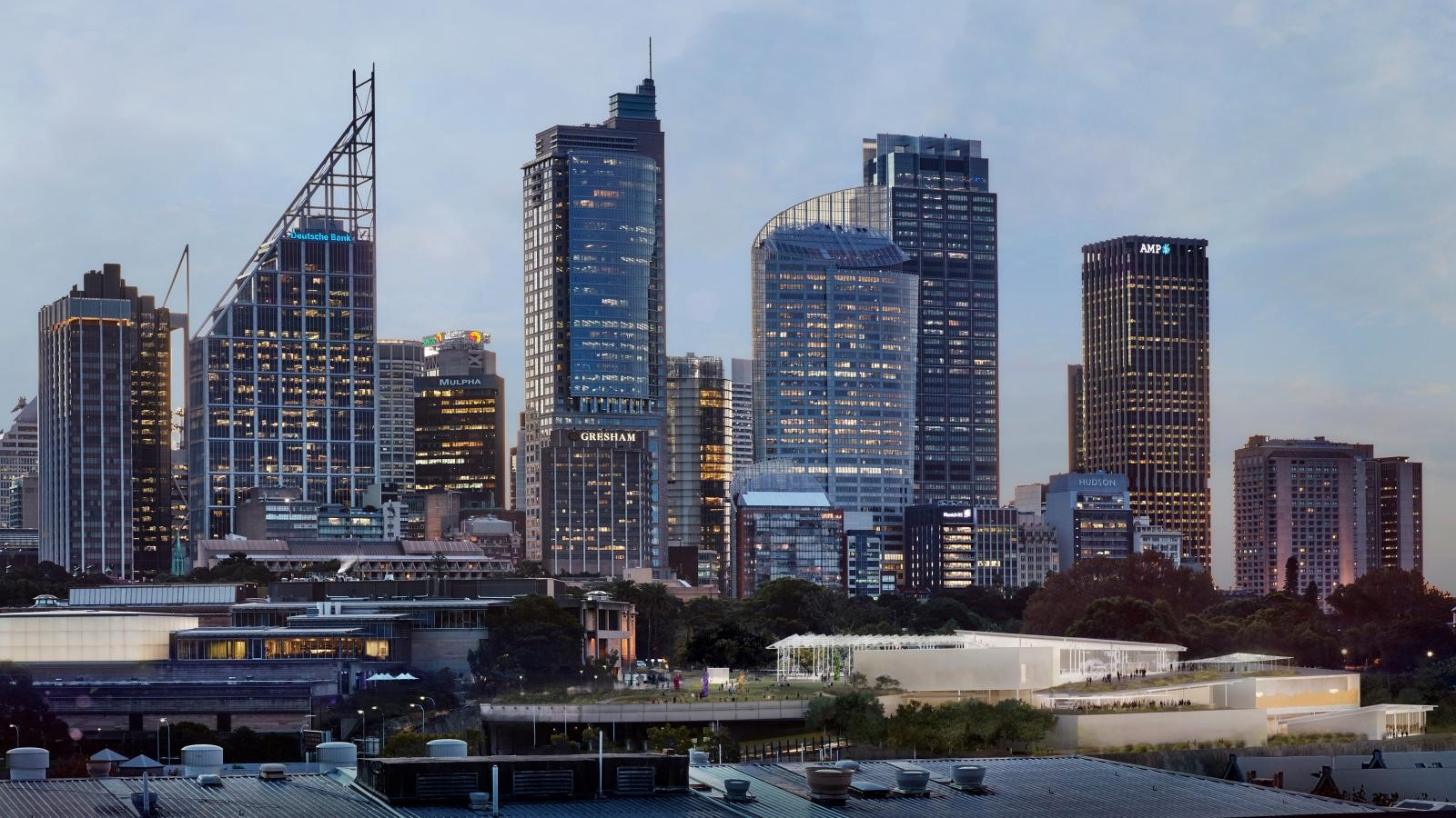 New Images For Art Gallery Of South Wales Expansion In Sydney revealed by SANAA - Sheet12