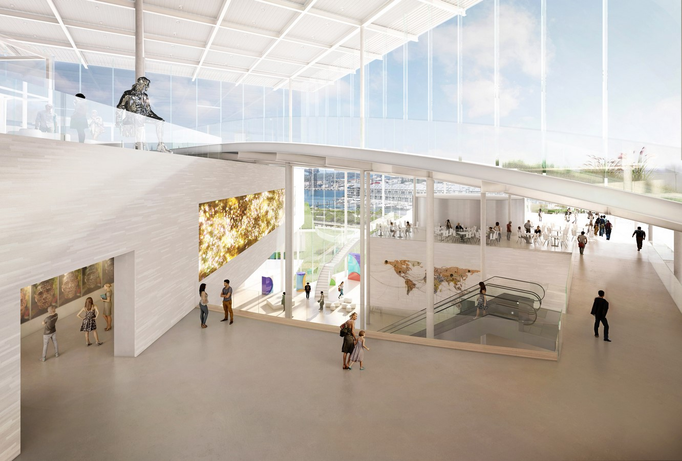 New Images For Art Gallery Of South Wales Expansion In Sydney revealed by SANAA - Sheet2