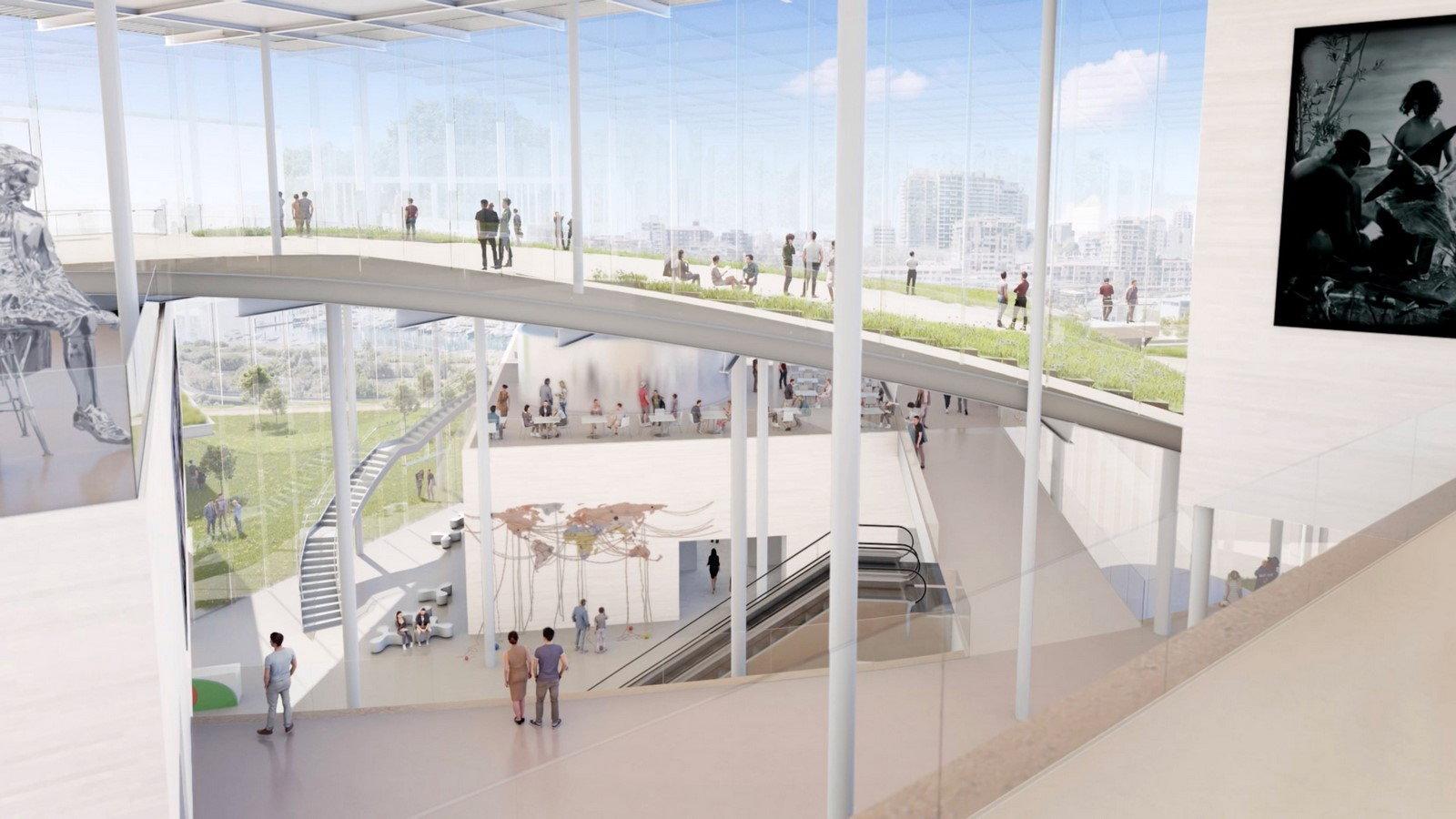 New Images For Art Gallery Of South Wales Expansion In Sydney revealed by SANAA - Sheet3