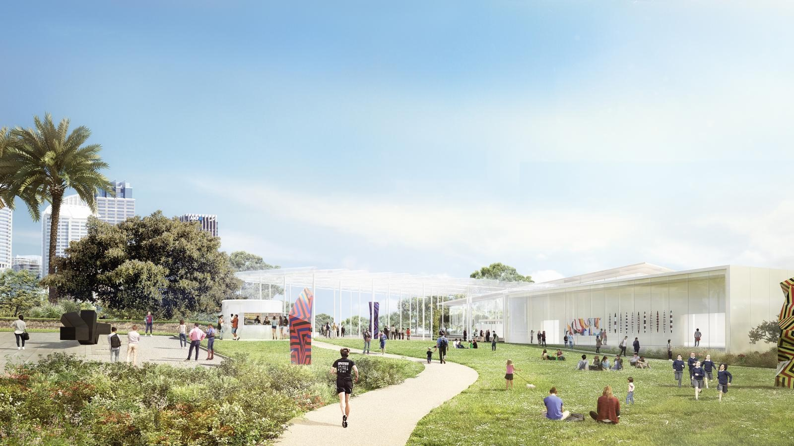 New Images For Art Gallery Of South Wales Expansion In Sydney revealed by SANAA - Sheet4