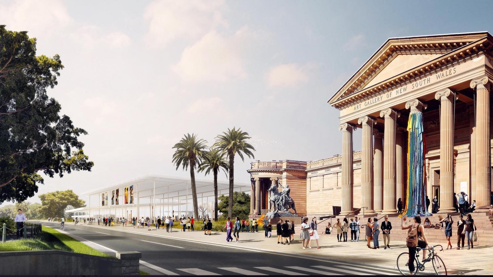 New Images For Art Gallery Of South Wales Expansion In Sydney revealed by SANAA - Sheet5