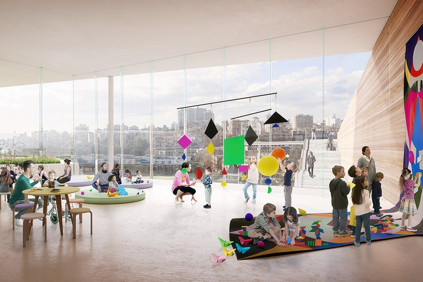 New Images For Art Gallery Of South Wales Expansion In Sydney revealed by SANAA - Sheet7