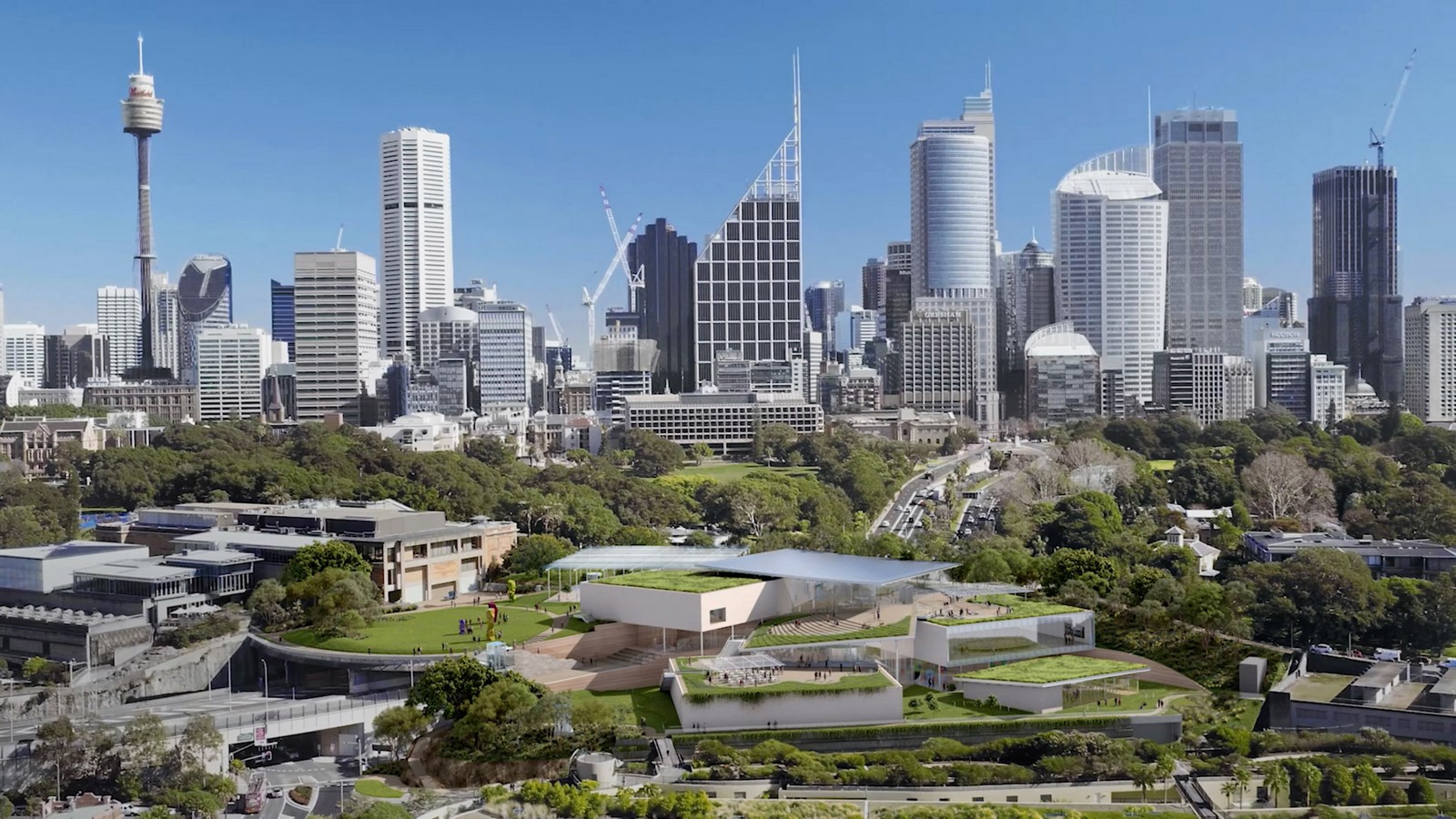 New Images For Art Gallery Of South Wales Expansion In Sydney revealed by SANAA - Sheet8