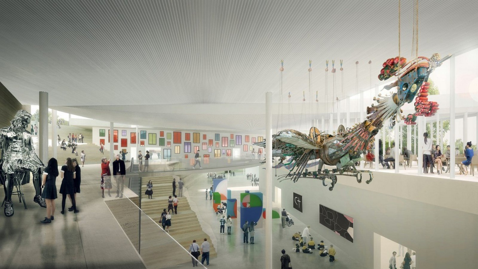 New Images For Art Gallery Of South Wales Expansion In Sydney revealed by SANAA - Sheet9