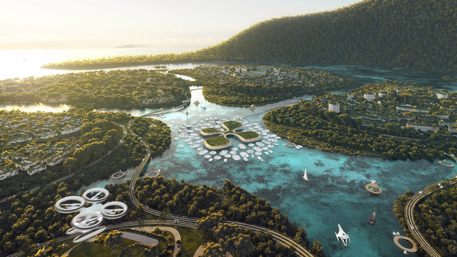 Plan to redesign Earth and stop climate change- Masterplanet concept revealed by Bjarke Ingels - Sheet3